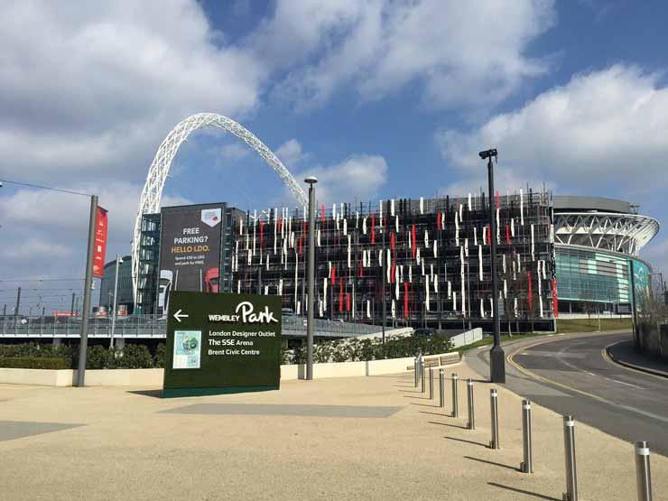 Wembley Voetbal